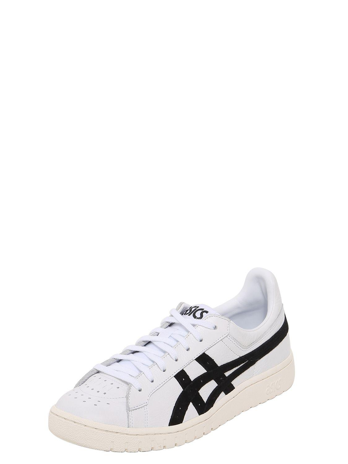 Asics POINT GETTER LEATHER SNEAKERS 5eOAU