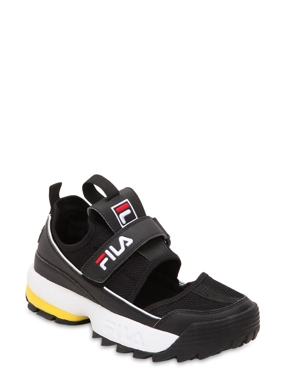 Fila Disruptor Half Sandal Flats in