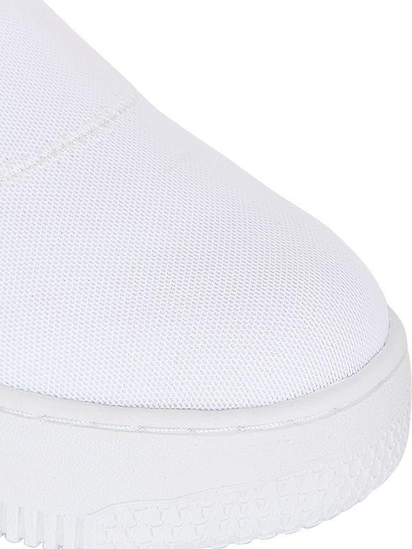 Windsor Smith 50mm Speedy Neoprene Slip-on Sneakers in White