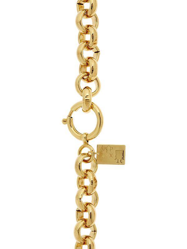Maria Francesca Pepe Spongebob Necklace in Gold (Metallic)