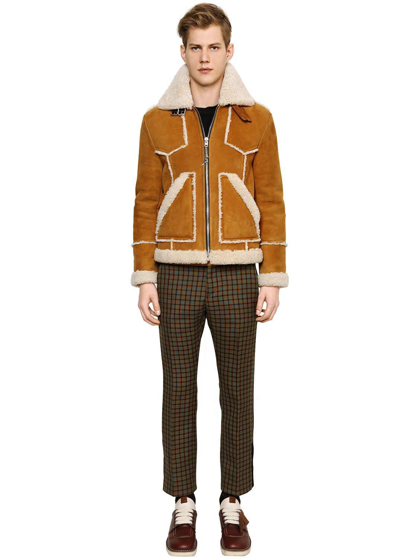 COACH Shearling Jacket for Men