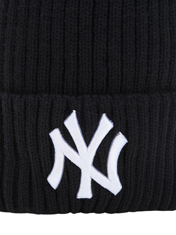 KTZ - Blue Ny Yankees Beanie Hat W  Popmpoms - Lyst. View fullscreen cbf4fed1583e