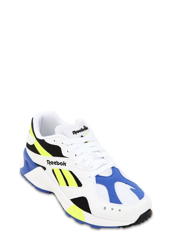 Reebok - White Aztrek Og Sneakers for Men - Lyst. View fullscreen 4632f3059