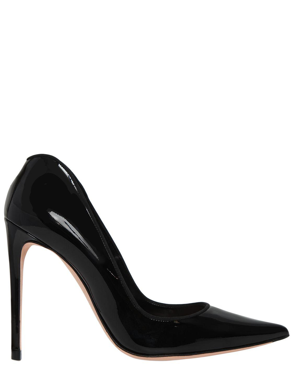 Alexander McQueen 105MM PATENT LEATHER PUMPS Visit Outlet Lowest Price Get To Buy Cheap Online Wiki kuQnD1