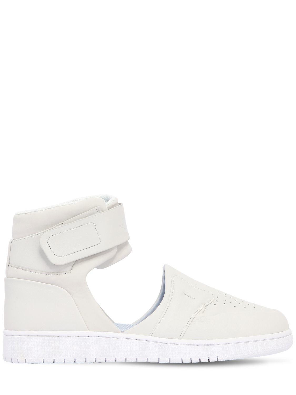 580e8c9418e Nike Air Jordan 1 Lover Xx Cutout Sneakers in White - Lyst