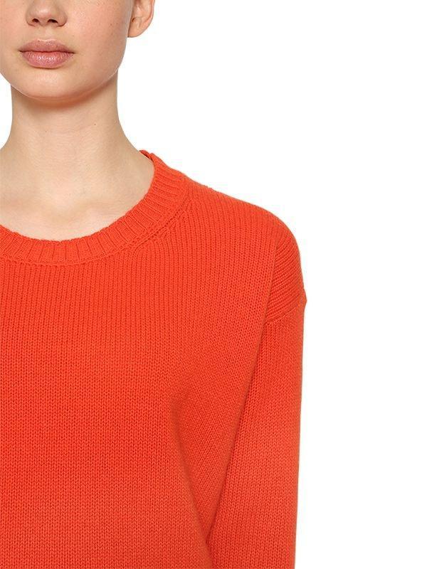 Suéter De Punto De Lana Y Cashmere Etro de Lana de color Naranja