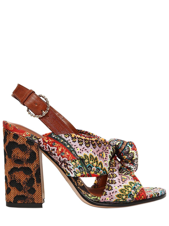 Etro Satin sandals 4C0iLzw