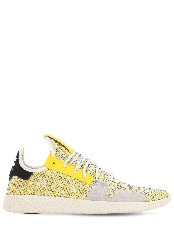 d8b263c2a Lyst - adidas Originals Afro Tennis Hu V2 Primeknit Sneakers in ...