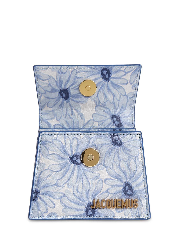"Sac En Cuir ""Le Chiquito"" Cuir Jacquemus en coloris Bleu"
