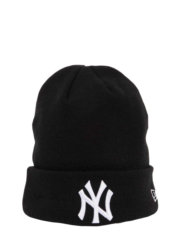 KTZ Mlb New York Yankees Beanie in Black - Lyst dc0c80924e1