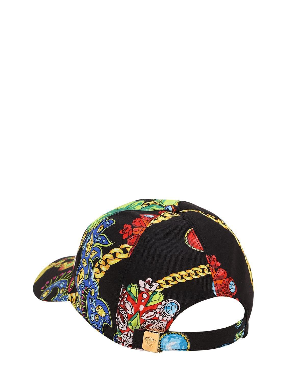 7912057da5429 ... Jeté Jewelry Printed Silk Baseball Hat for Men - Lyst. View fullscreen