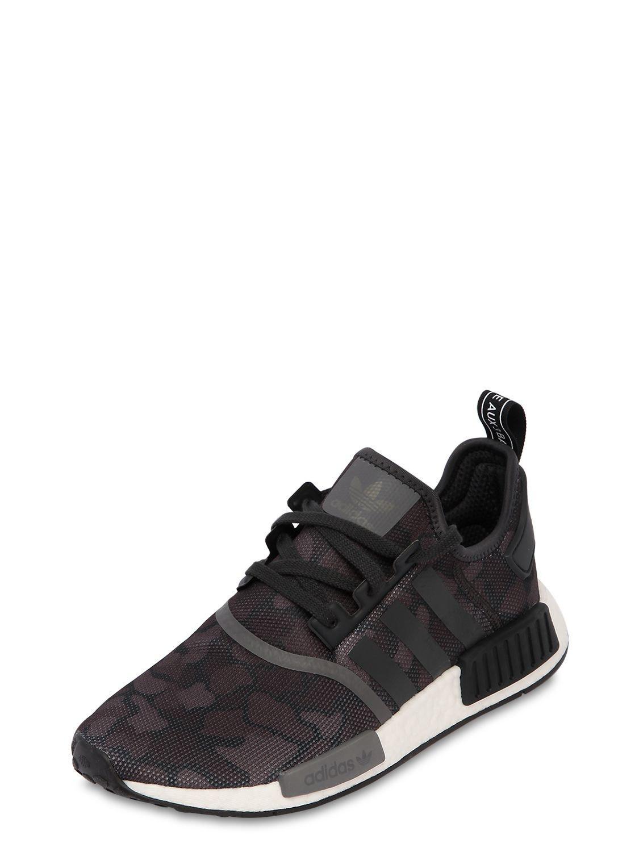 295c38001276fc Adidas Originals - Black Nmd R1 Sneakers for Men - Lyst. View fullscreen