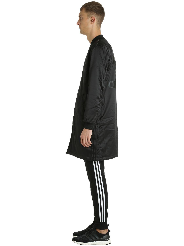 60aead932c2e Lyst - adidas Originals Sst Hzo Nylon Bomber Coat in Black for Men