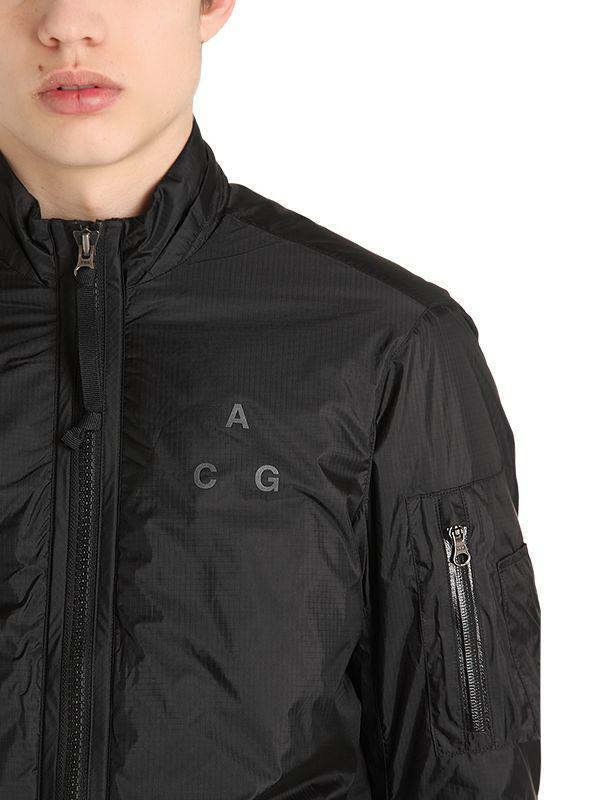 a404414d6 Nike Black Nikelab Acg Metamorphosis Bomber Jacket for men
