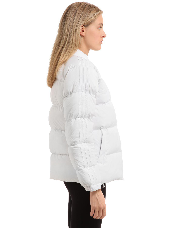 5e5d7be8e Adidas Originals White Sst Nylon Down Jacket