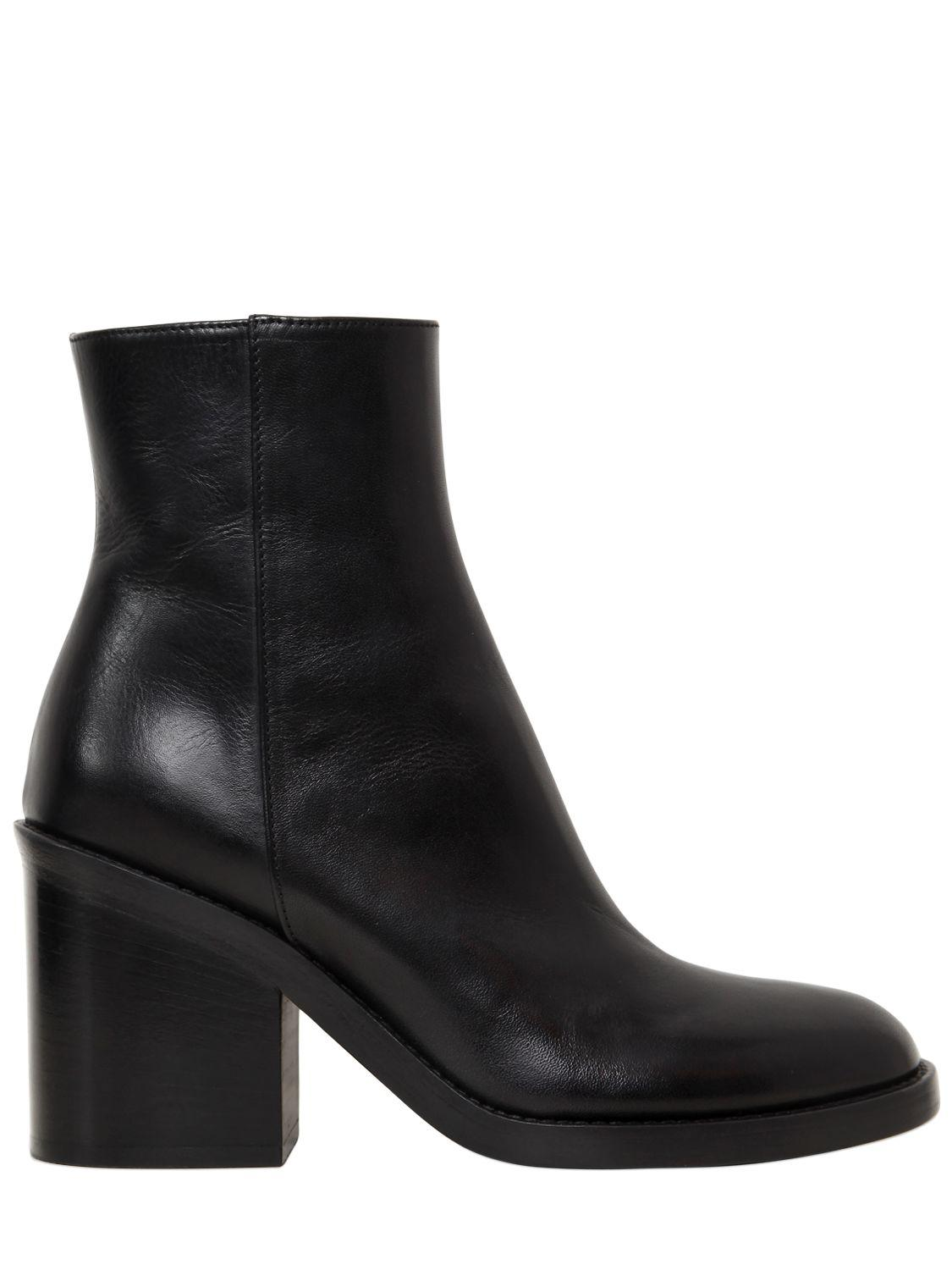 outlet high quality Ann Demeulemeester stiletto ankle boots wiki cheap price on hot sale SIEaxcq