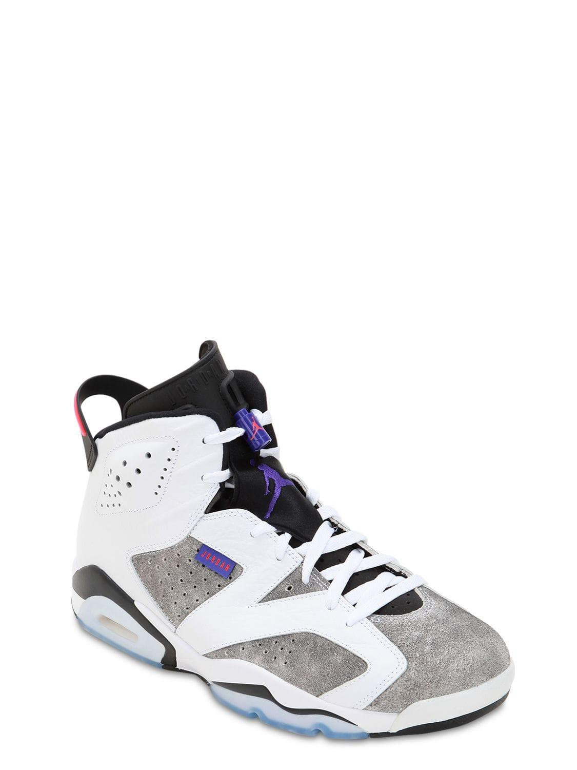 new style ec40b aa796 Nike Air Jordan 6 Retro Sneakers in White for Men - Save 14% - Lyst