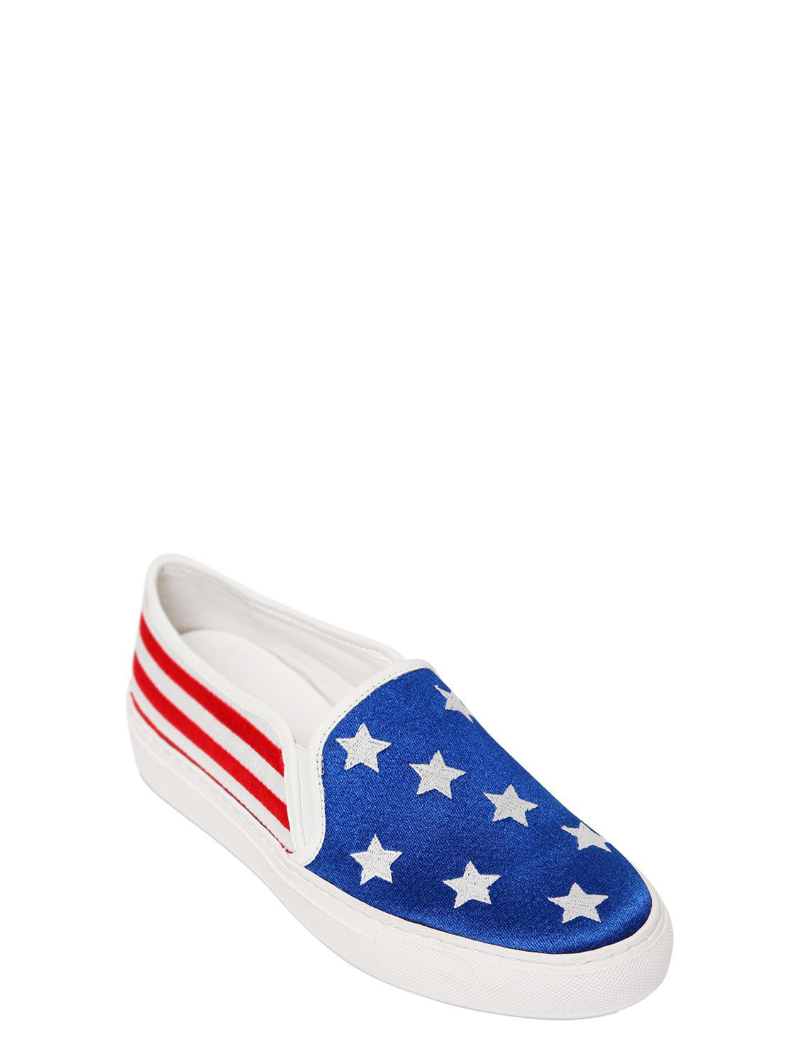 Katy Perry - Blue 20mm Michelle American Flag Sneakers - Lyst. View  Fullscreen