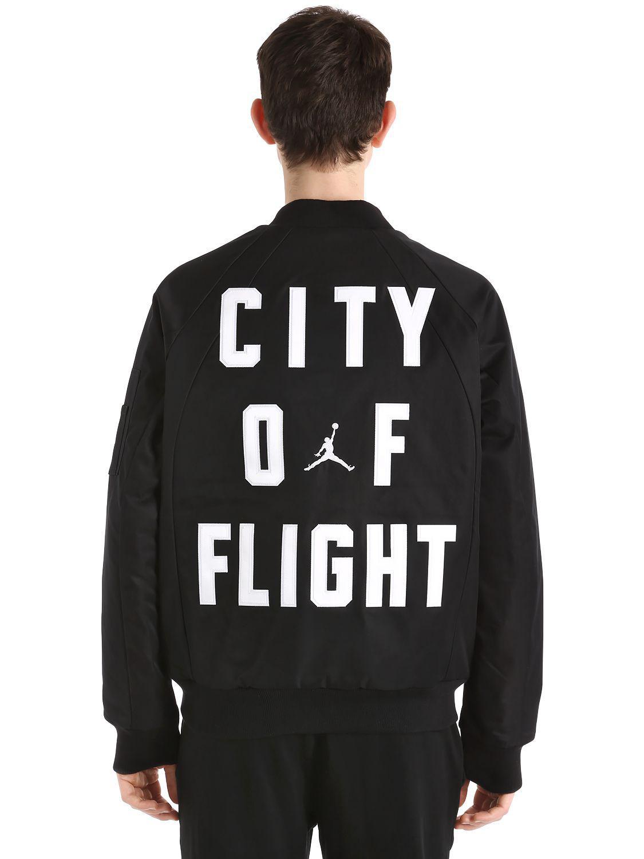 c3c31184dcc6c5 Lyst - Nike Air Jordan Wings Ma-1 Bomber Jacket in Black for Men
