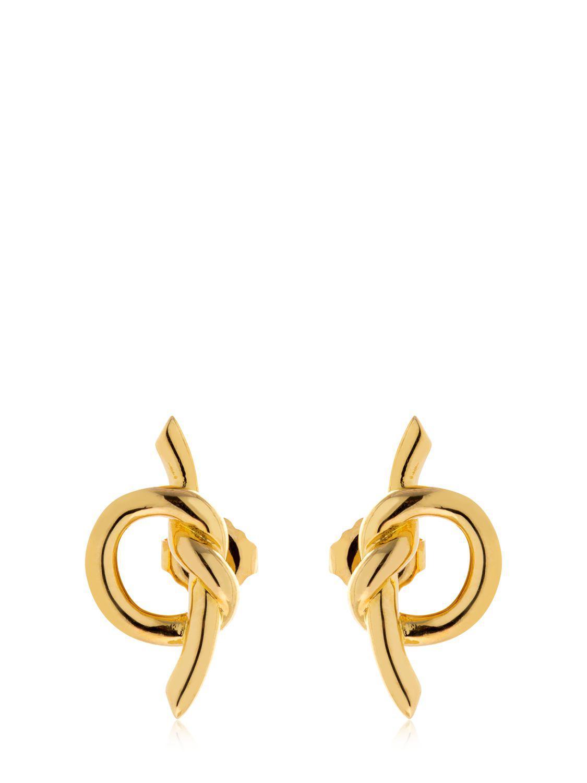 Eshvi 18kt gold and diamond web earrings - Metallic p09G7zKo2j