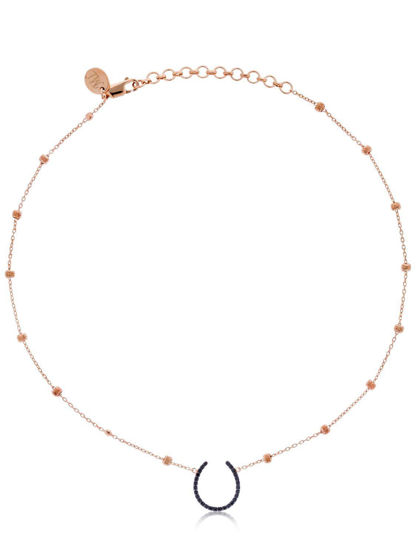 Maha Lozi Superstition necklace - Metallic Q0qG1