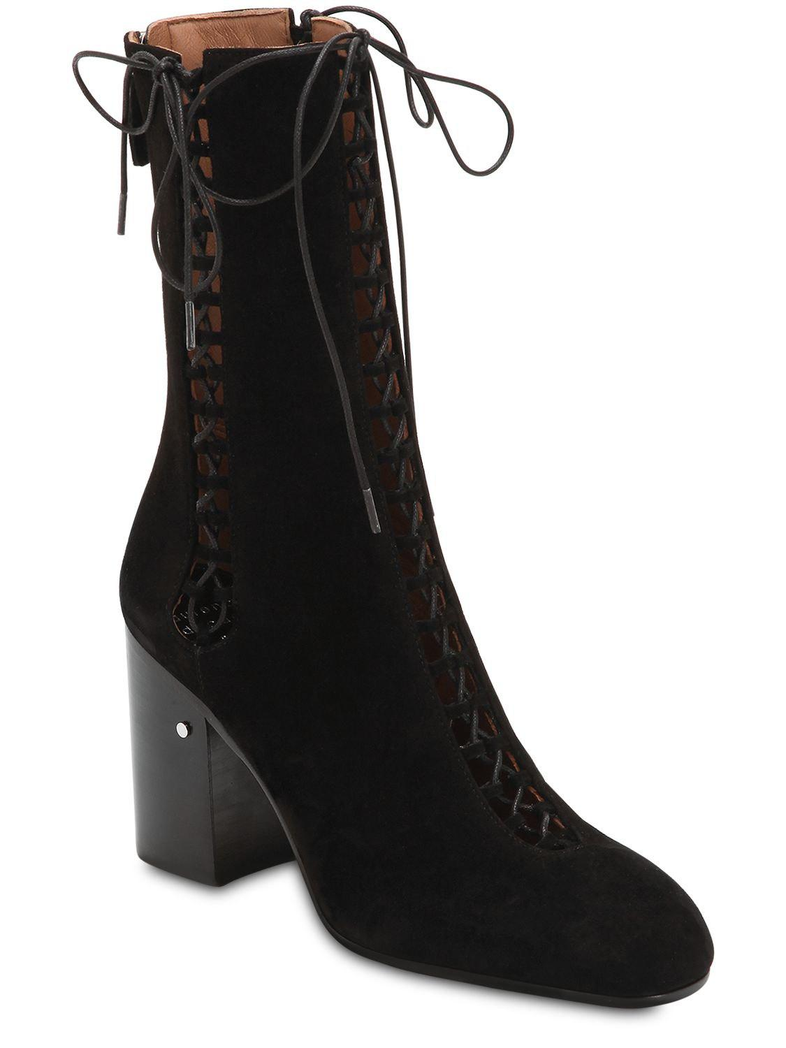 Up In Suzy 43 Save Boots 93241167434716 Black Dacade Laurence Lace SqFxPF7