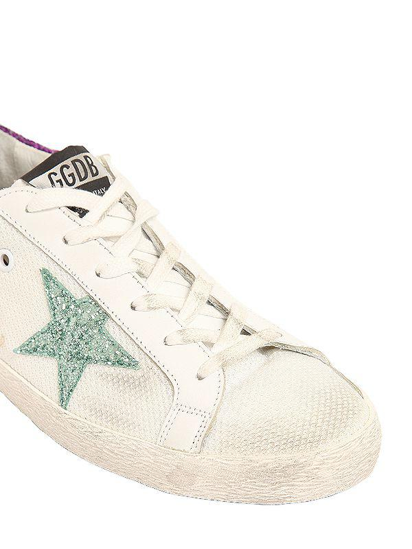 Golden Goose 20MM SUPER STAR GLITTER DETAILS SNEAKERS Cheap Sale Countdown Package Pictures Cheap Online UAZm5Crwda