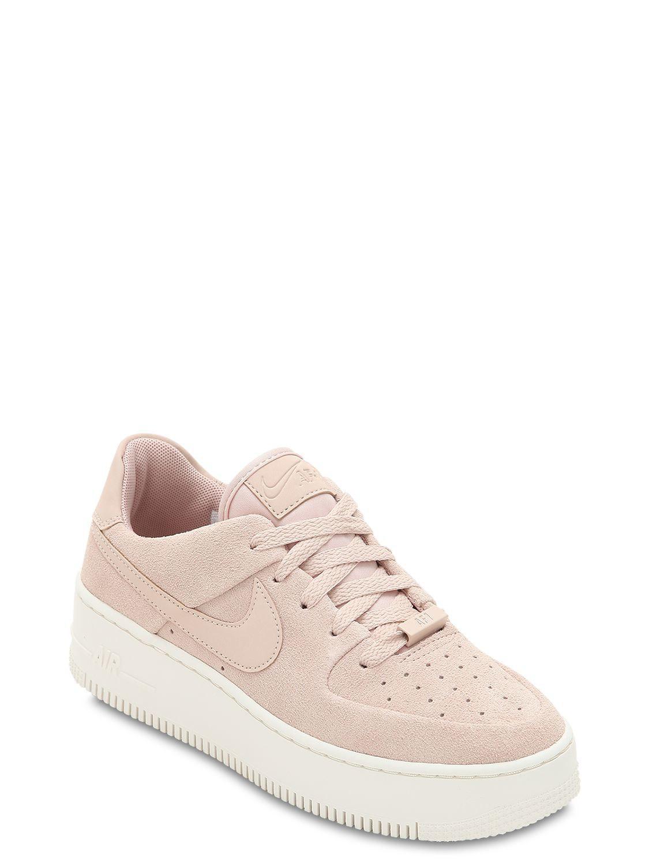 nike air force 1 womens light pink