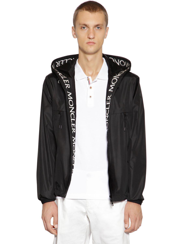 moncler black massereau jacket