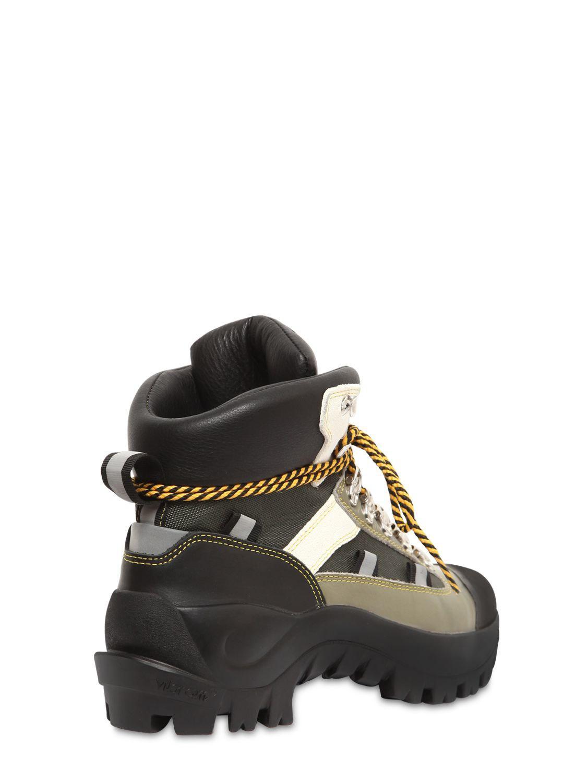 df533804ab66 Ganni - Multicolor 40mm Bruna Leather Hiking Boots - Lyst. View fullscreen