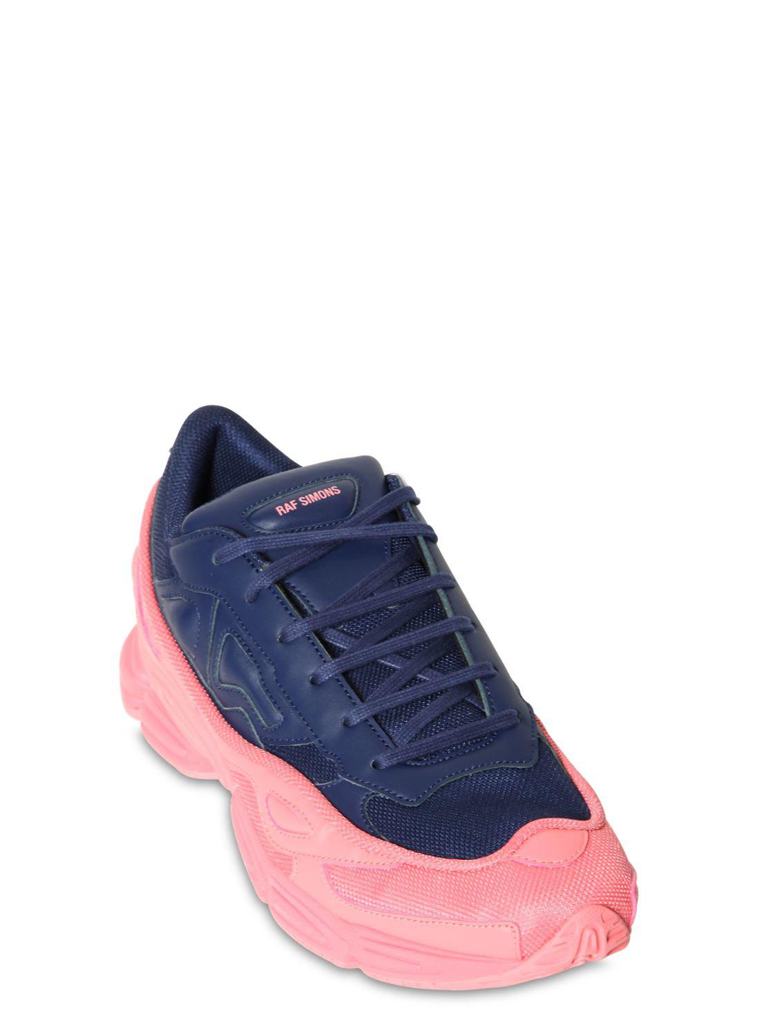 de5a67011c8e1a Lyst - adidas By Raf Simons Rs Ozweego Iii Two Tone Sneakers in Blue for Men