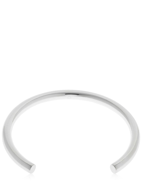 Saskia Diez Bold Rigid Necklace in Silver (Metallic)