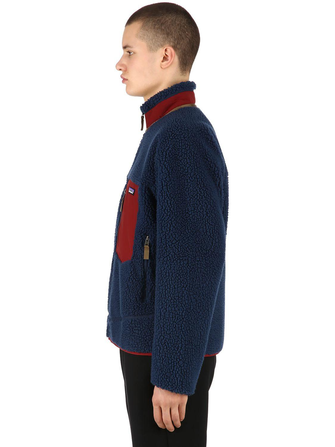 Patagonia Classic Retro-x Fleece Jacket in Navy (Blue) for Men