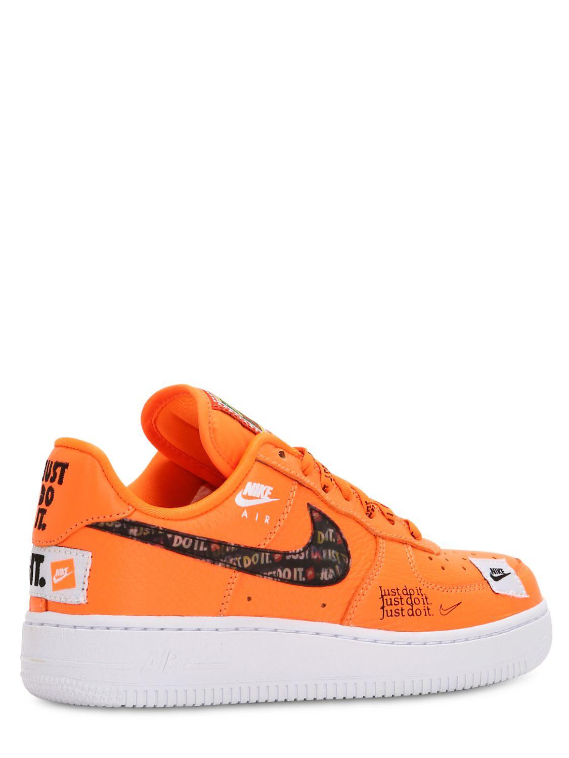 air force 1 just do it jaune