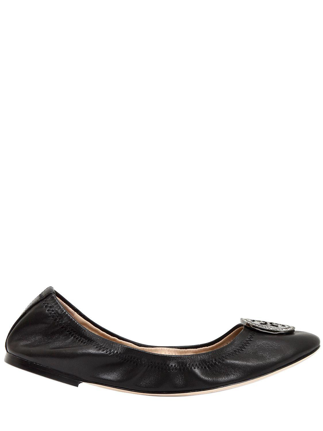 Tory Burch 10MM LIANA METALLIC LEATHER FLATS Shop Offer Cheap Online Cheap Pictures vyf33