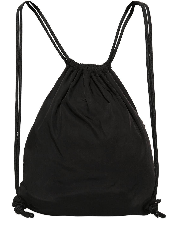 McQ Mcq Techno Canvas Backpack in Black for Men