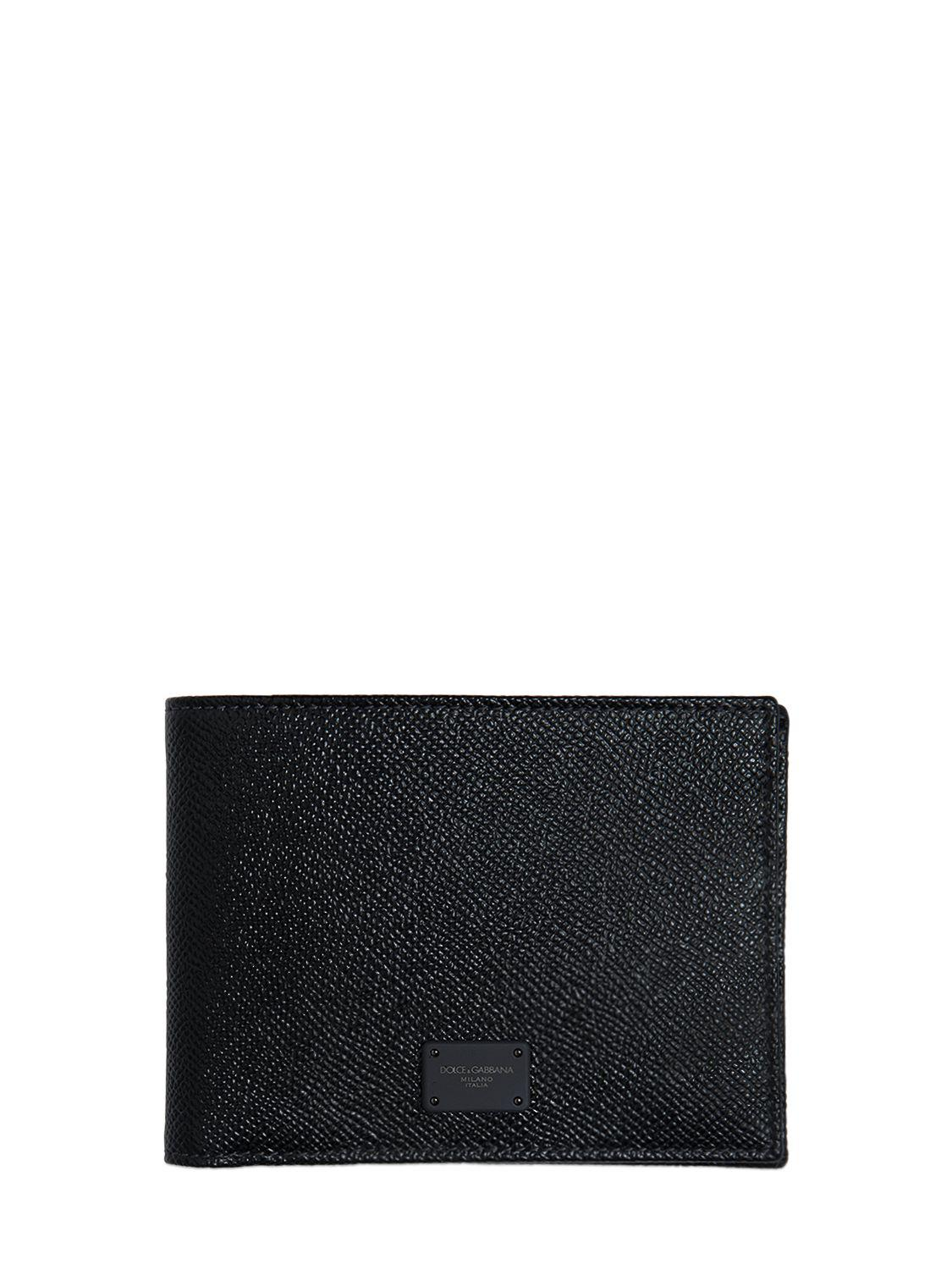 Black Dauphine leather wallet Dolce & Gabbana ewqlwMAGN