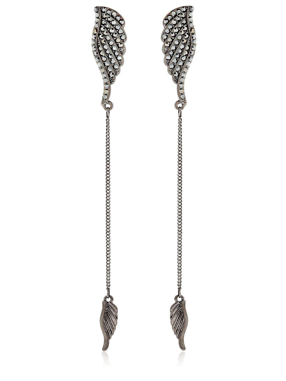Federica Tosi wing studded small earring - Black 5I7V9fS