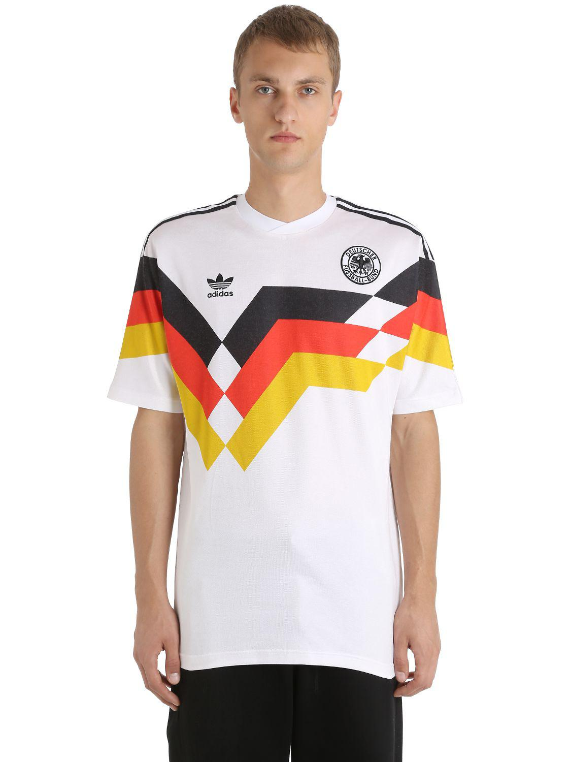 1990 For Jersey Adidas Originals White Football Germany Men xdrBoeCW