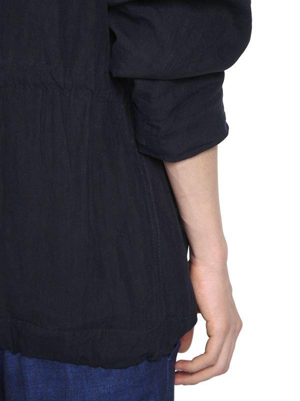 "Haider Ackermann ""the Truth"" Embroidered Linen Jacket in Navy (Blue) for Men"