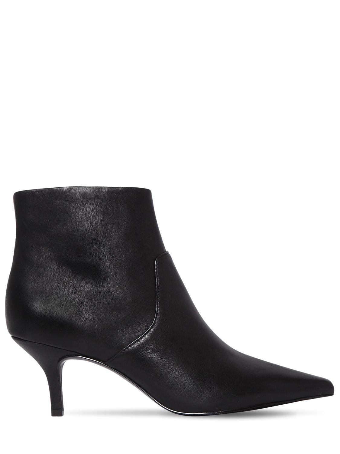 Steve Madden 60MM ROME LEATHER BOOTS BrfoucgUa
