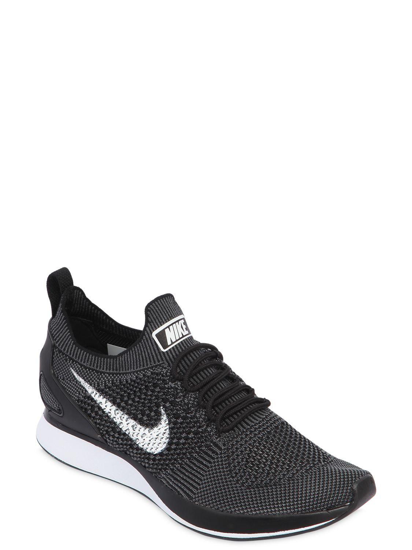 c2f088d08368ba Nike - Black Air Zoom Mariah Flyknit Racer Sneakers for Men - Lyst. View  fullscreen