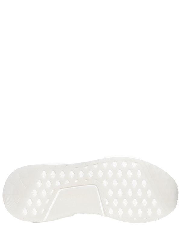 adidas originali nmd r1 stlt primeknit scarpe bianche per gli uomini lyst