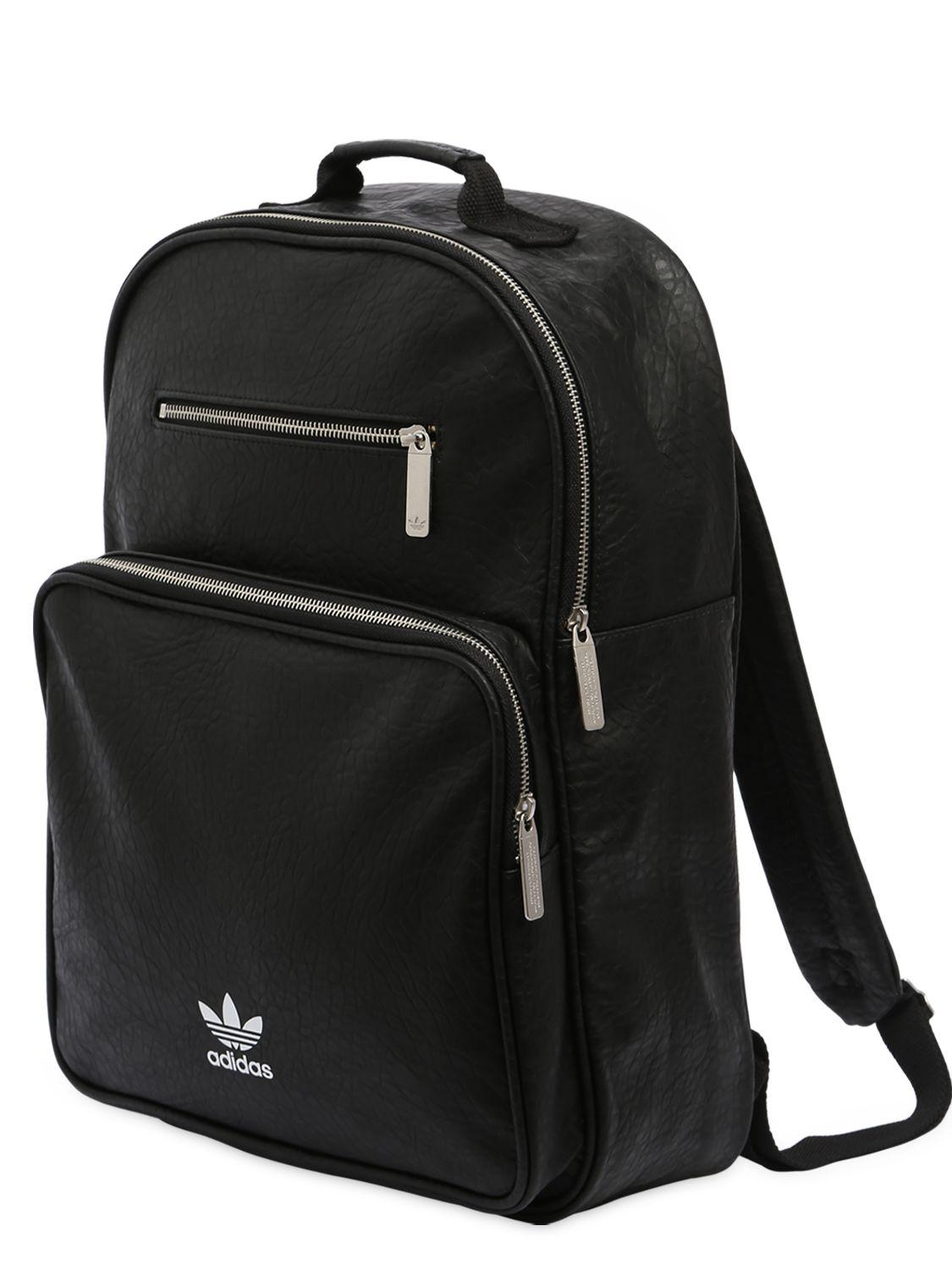 790ffa5ee322 Adidas Classic Mini Faux Leather Backpack- Fenix Toulouse Handball