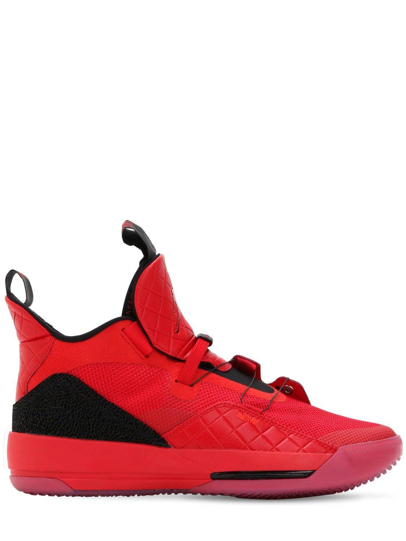 3270dbe4fc7 Lyst - Nike Air Jordan Xxxiii Sneakers in Red for Men