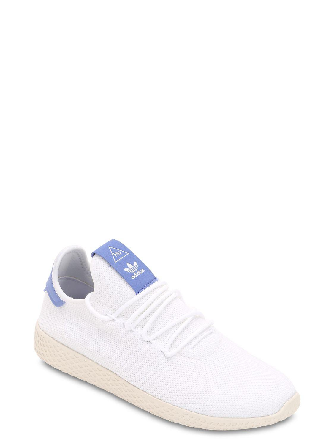d5af5ac22 adidas Originals Pharrell Williams Knit Sneakers in White for Men - Lyst
