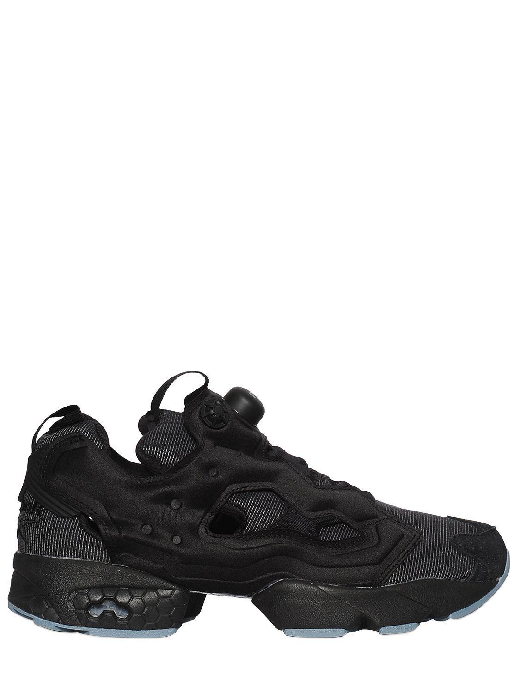 ce59a1f1e9e0 Reebok Instapump Fury Nylon Sneakers in Black for Men - Lyst