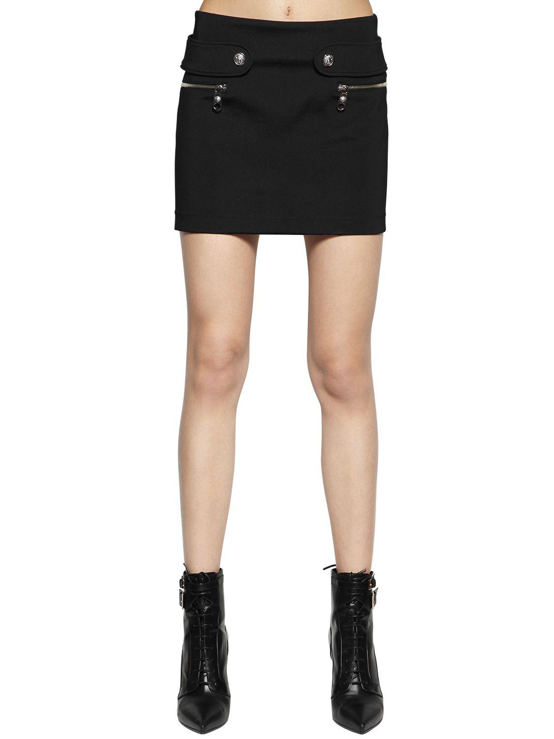 Black Puffy Miniskirt Versus Outlet Low Price Fee Shipping High Quality For Sale Discounts Cheap Price Free Shipping 2018 New Buy Cheap Price 4EriaC6O1j