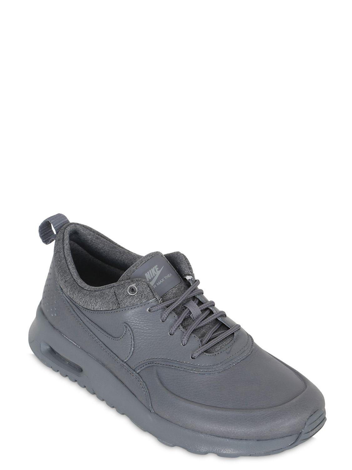 5f12efe0209e2 Lyst - Nike Air Max Thea Pinnacle Leather Sneakers in Gray
