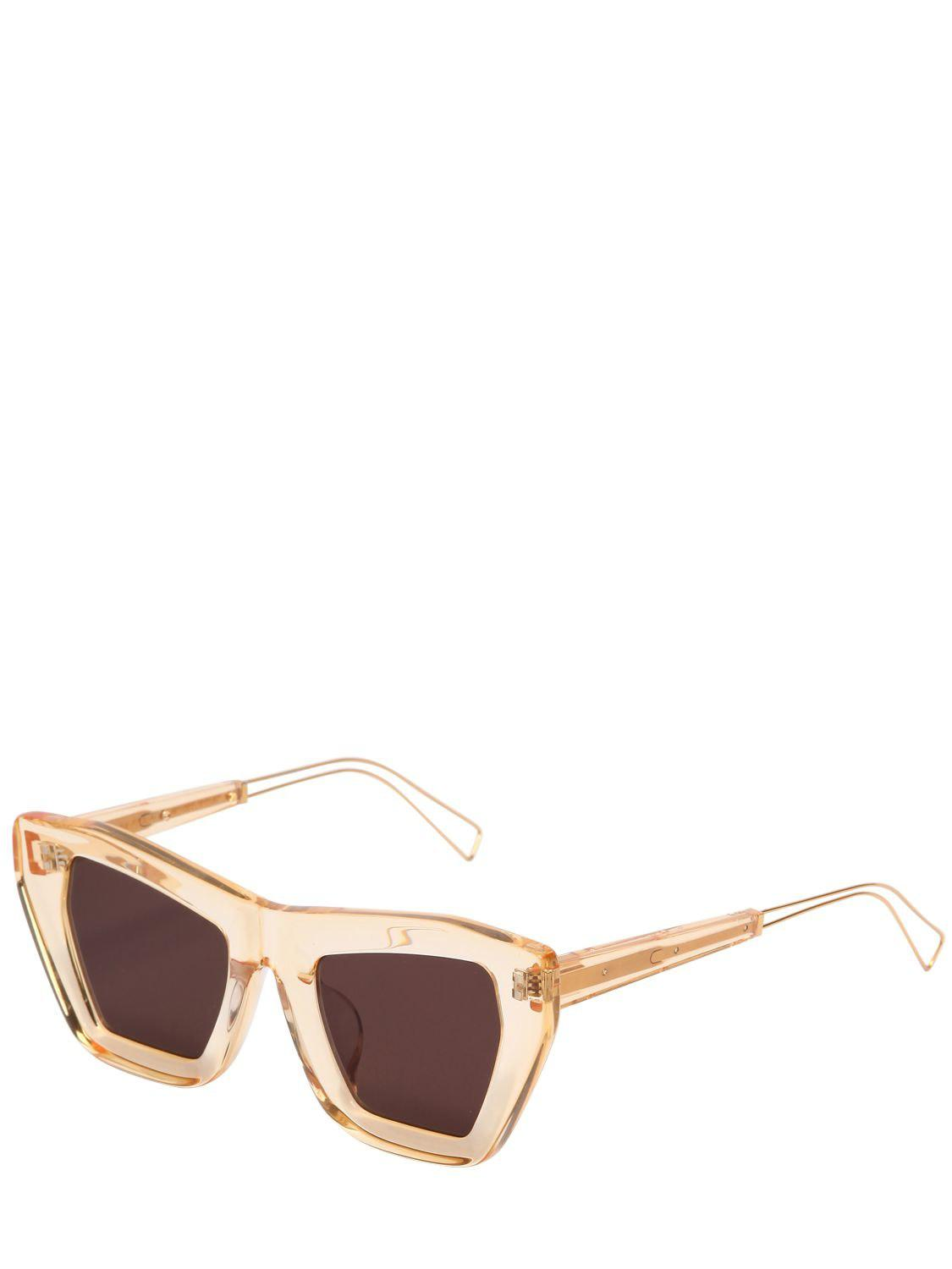 Rejina Pyo Marta Yellow Sunglasses